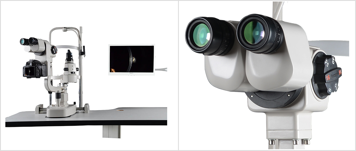 SLM-4X Digital Slit Lamp Details