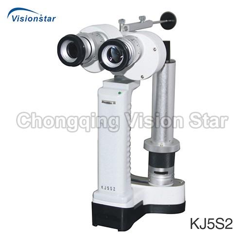 KJ5S2 Portable Slit Lamp Microscope