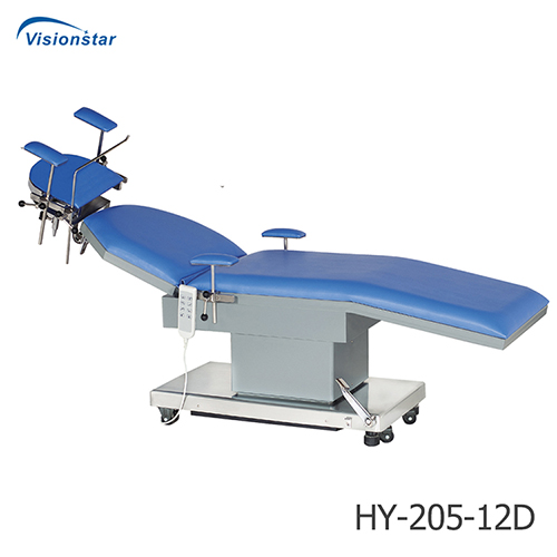 HY-205-12D Electric E.E.N.T Examination & Operating Table