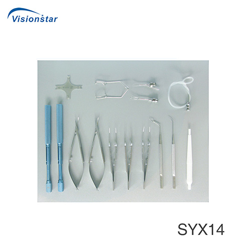 SYX14 Cataract Small Cut Surgical Instrument Set