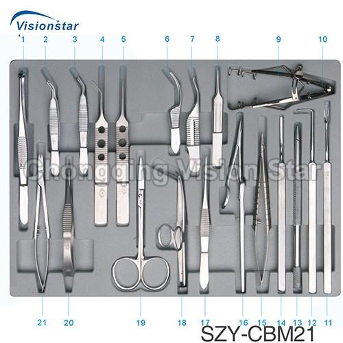SZY-CBM21 Ophthalmic Operation Instrument Set