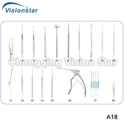 A18 Lacrimal Surgery Kit