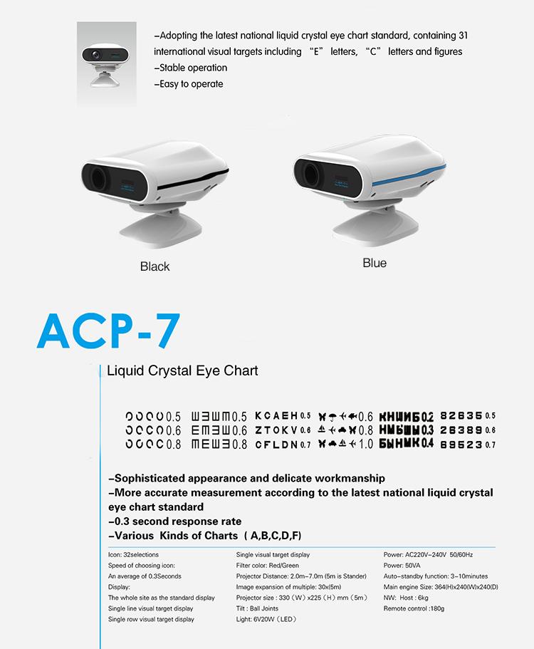 ACP-7 Auto Chart Projector